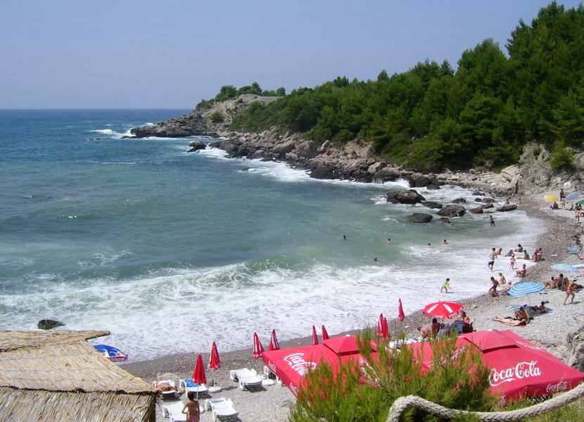 Пляж «Штрбина»
